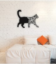Cat Metal Wall  Art Decor Portraits