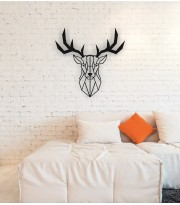 Deer Metal Wall Art Decor