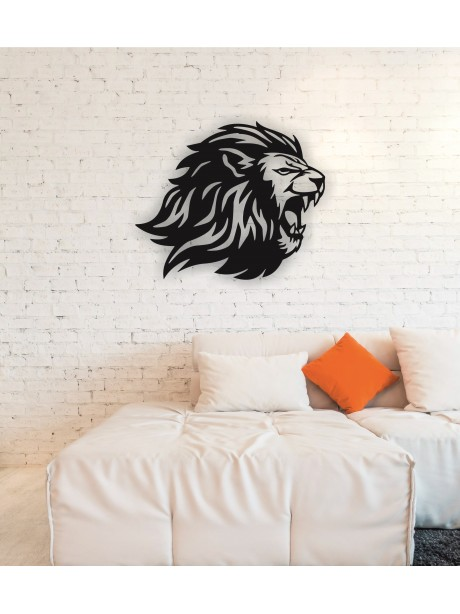 Lion Metal Wall Art Decor