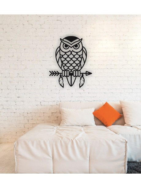 Metal Wall Art Owl  Portraits