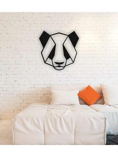 Panda Metal Wall Art Decor Portraits