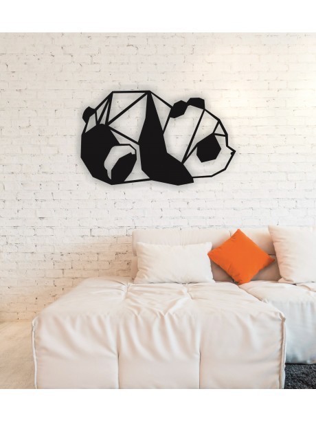 Panda Metal Wall Art Decor