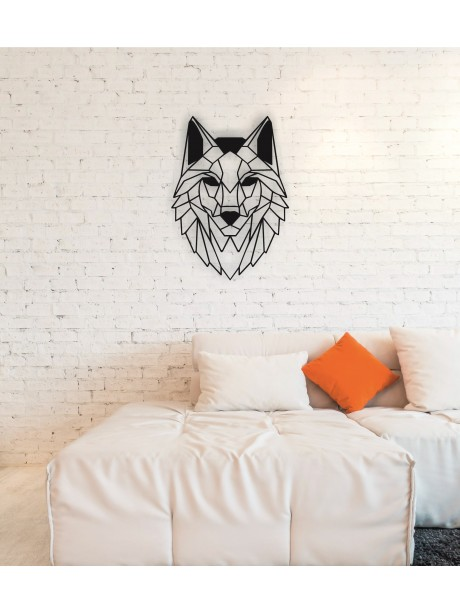 Wolf Metal Wall Art Decor Portraits