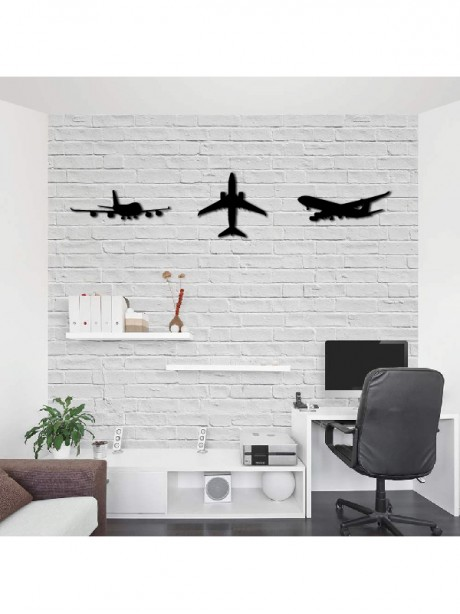 Linewallart Air Plane Wall Decorative Hanging Portrait