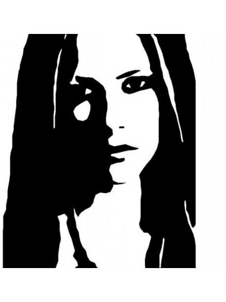 Line Wall Art  Avril Lavigne Metal Wall Hanging