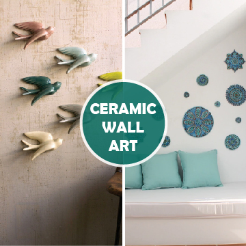 Ceramic Wall Art