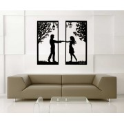 Love Tree Metal Wall Art