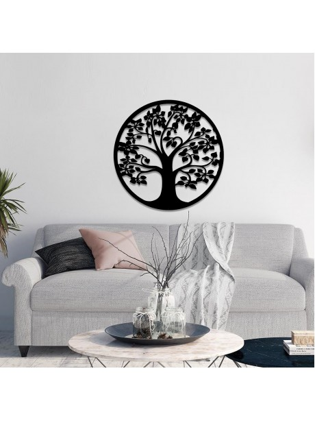Line Wall Art Tree Of Life Wall Decorative Metal Portrait