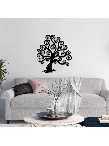 Line Wall Art Metal Tree Of Life Decorative Portrait