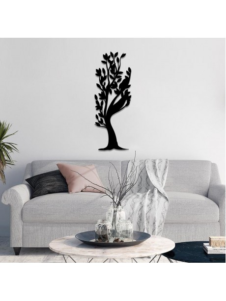 Line Wall Art Tree Of Life Wall Hangable Metal Decor Portrait