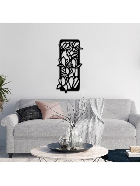 Line Wall Art Metal Flower Wall Hangable Decor Portrait